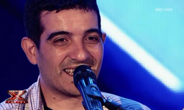 Mario Gavino Garrucciu sul palco delle audizioni