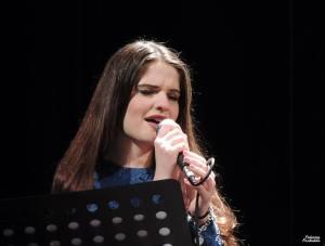 Violetta durante l'esibizione di Casalgrande (photo Federico Fantuzzi)
