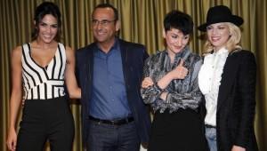 Carlo Conti e il cast del Festival 2015