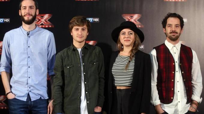 I Landlord sul palco di X Factor