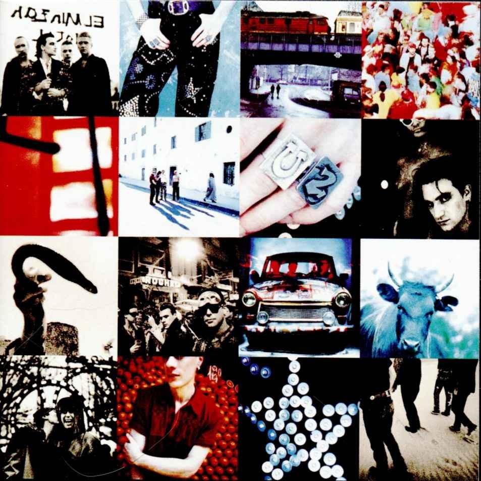 La cover art di Achtung Baby